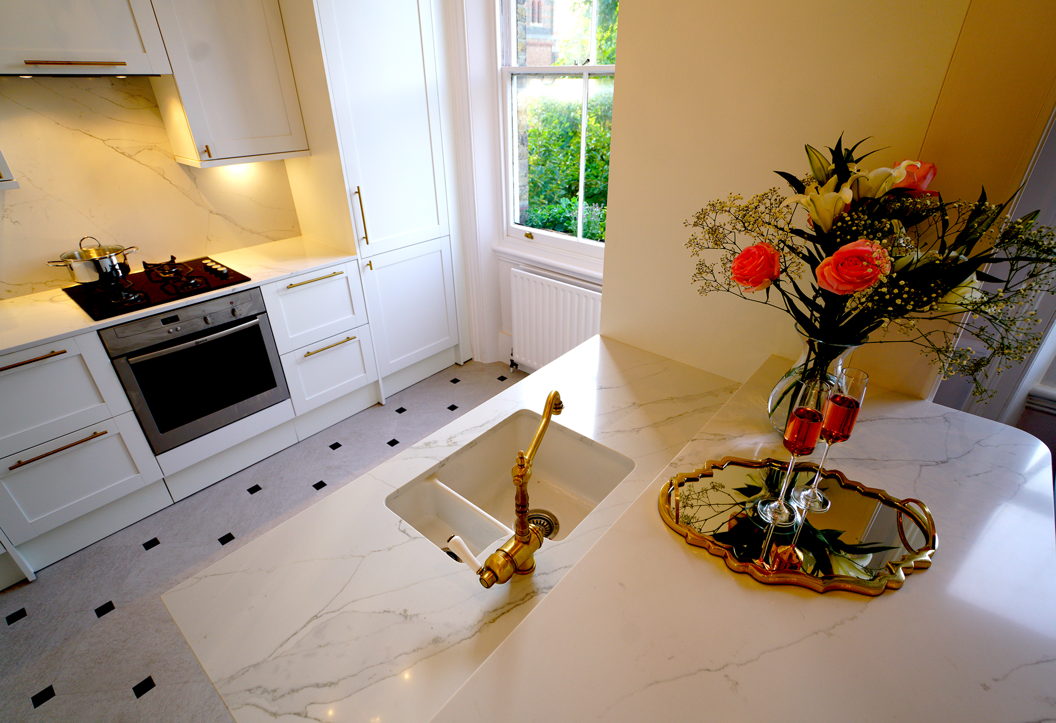 Beauty of the Carrara Marble