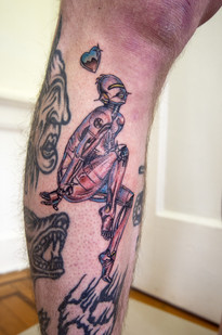 Sorayama Tattoo