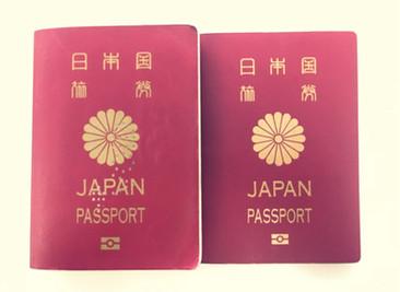 パスポートのおもいで