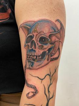 Sorayama tattoo