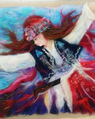 Kirkyama (patchwork) -Yorganlama-Art qui