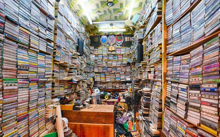 Fez Cassette shop