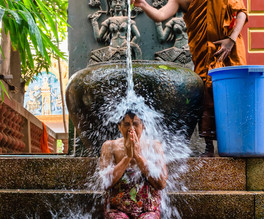 Buddist Water Blessing