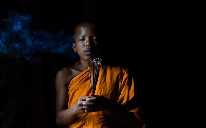 Monks prayer