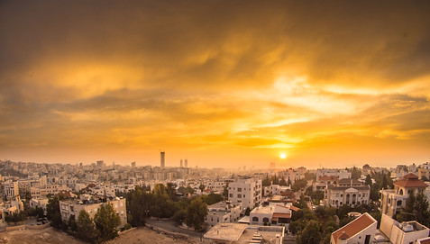 Amman sunrise