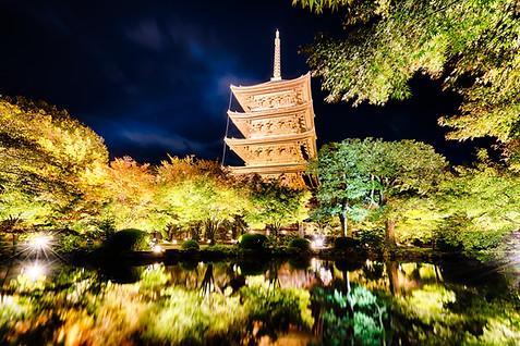 Kyoto Night illuminations