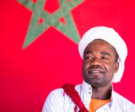 Moroccan musician