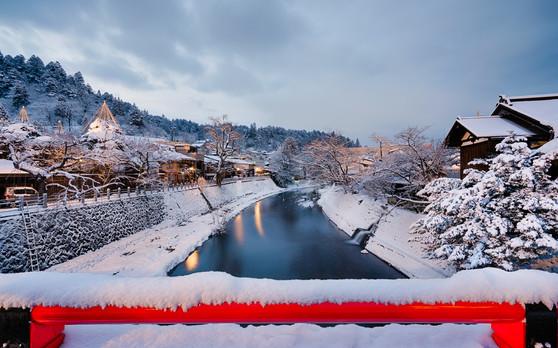 Takayama winter