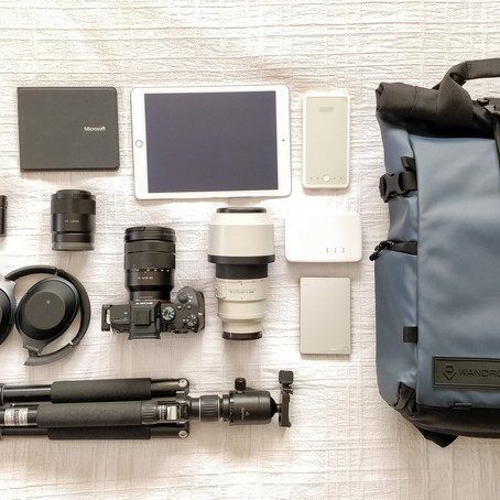 Photography gear list. The long and the short of it