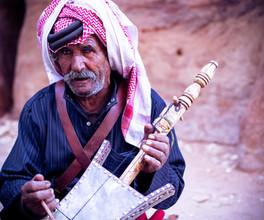 Bedouin musician