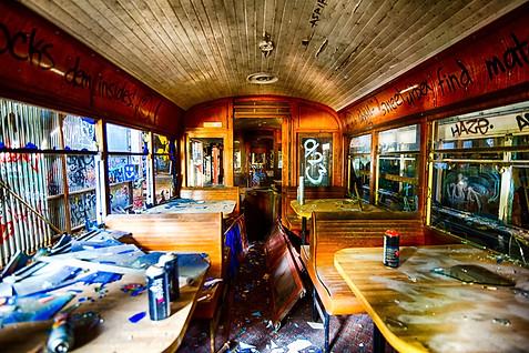 Abandoned Tram Yard