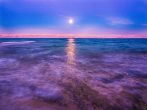 Dead Sea Moon