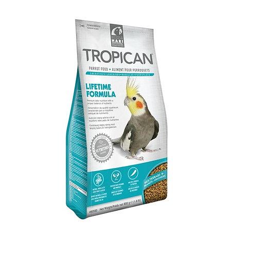 Tropican Lifetime Formula Granules for Cockatiels - 820 g (1.8 lb)