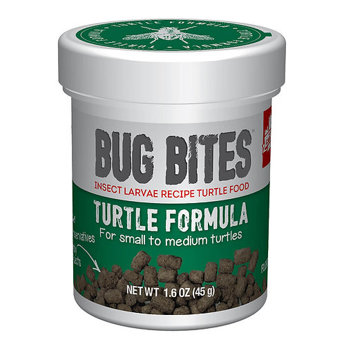 Bug Bites Turtle Pellets (S-M), 1.6 oz (45 g)