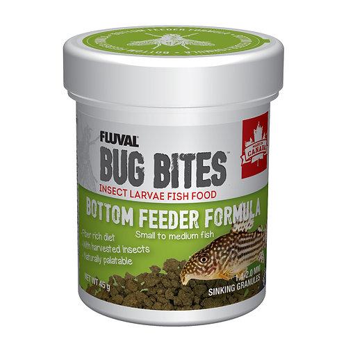 Fluval Bug Bites Bottom Feeder Granules (S-M), 45 g (1.6 oz)