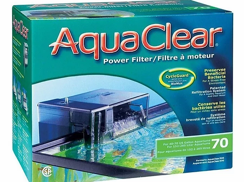 Aqua Clear 70 Hang-On/Power Filter (up to 265 Litres)