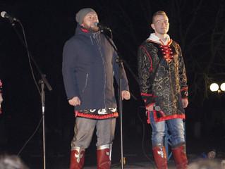 Новогодняя ночь и выступление ансамбля «Бабкины внуки»