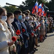 Митинг у Стены памяти в честь 77-летия освобождения г. Стародуба и Стародубского района