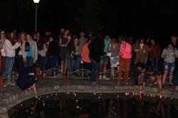 акция в парке Зажги свечу