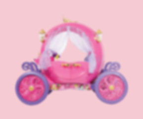 princess carriage toy ride-on