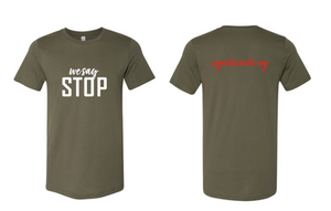 Unisex Jersey T (Military Green)
