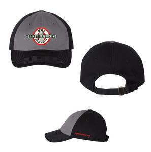 Branded Dad Hat (Charcoal & Blk)