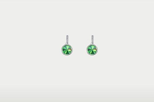 Splash of Colors Earrings / Silver