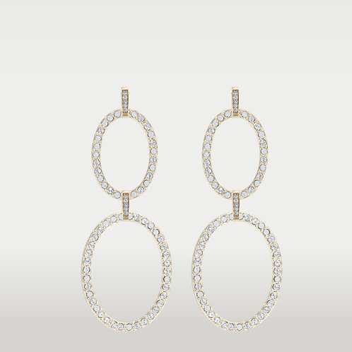 Timeless Ovals (M/L) Earrings