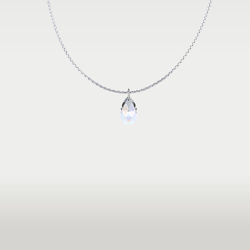 Necklace Pear silver