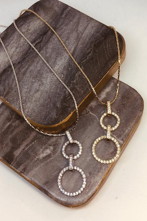 Infinite Circles(S/M) Necklace