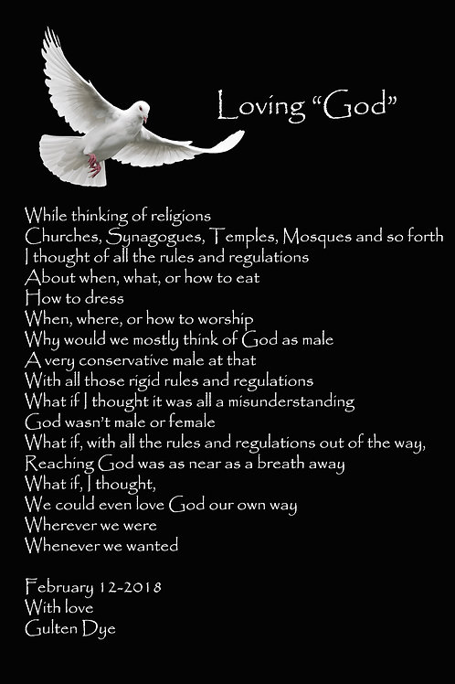 "Loving""God"""