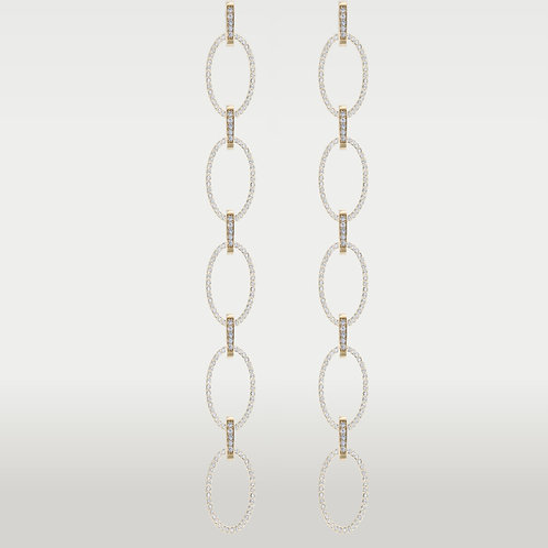 Ovals of Creation Earrings