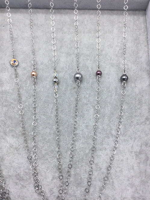 Mask Chains Silver