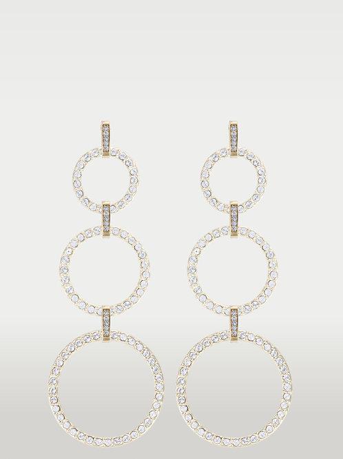 Infinite Circles (S/M/L) Earrings