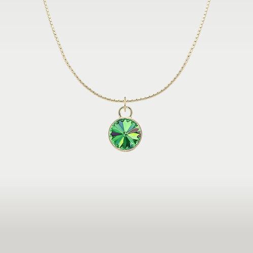 Splash of Color Necklace Gold