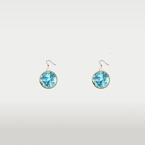 Birthstone Earrings/ Gold