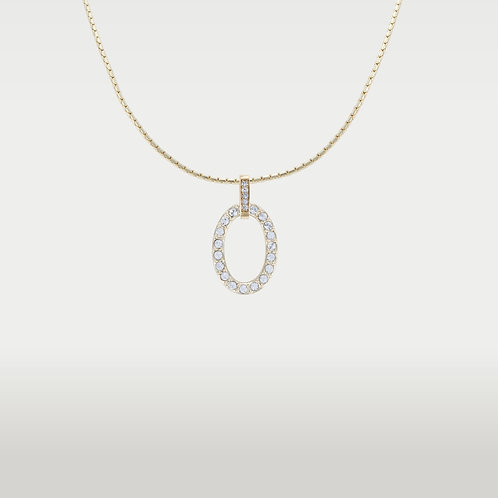 Timeless Ovals (S) Necklace Gold or Silver