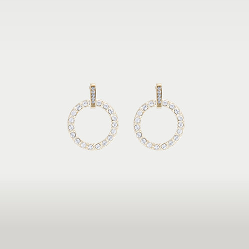 Infinite Circles (S) Earrings