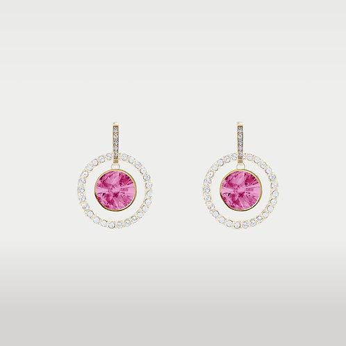 Birthstones Earrings Gold/  Interchangeable