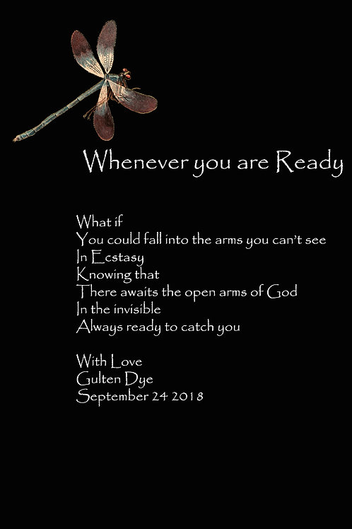 Whenever you are Ready