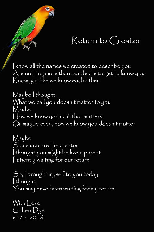 Return to Creator