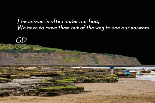 The answer is often under our feet