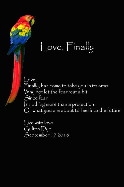 Love, Finally
