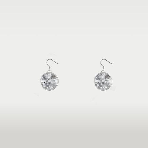 Birthstone Earrings /Silver