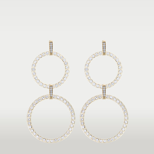 Infinite Circles (M/L) Earrings