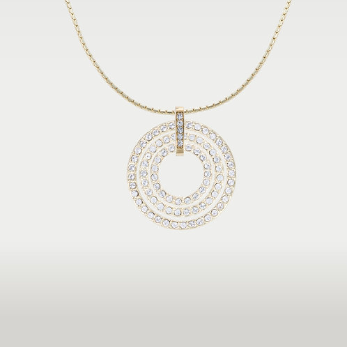 Infinite Circles(SML) Necklace