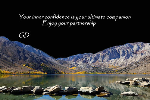 Your inner confidence is your ultimate