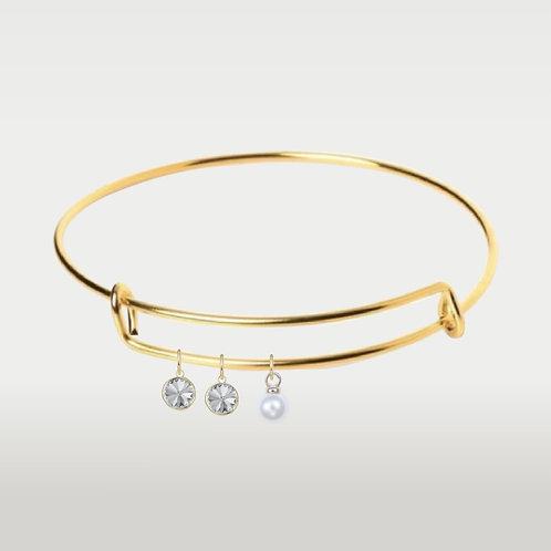 Birthstone Bracelets- Gold