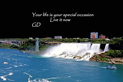 Your life is your special occasion
