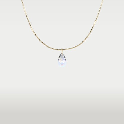 Necklace Pear Gold